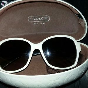 Coach sunglasses with case